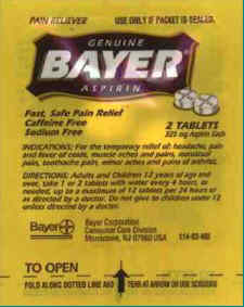 Bayer Two Pack