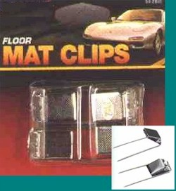 Floor Mat Clips
