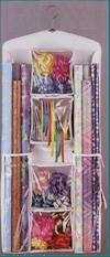 Gift Wrap Organizer - Click On Image To Enlarge